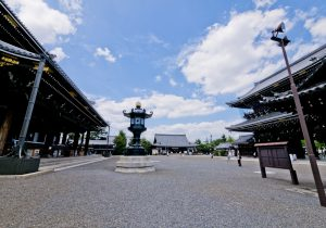 Precinct of Higashi Honganji Temple