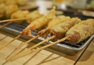 Deep Fried Skewers
